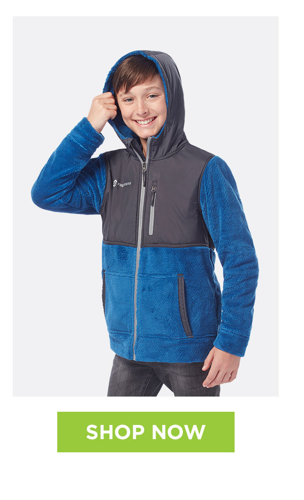 59376cacd30 Boys  Terrain Venture Pile Fleece Jacket