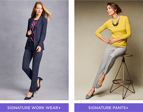 25% off Signature Fall Pieces. Shop Now