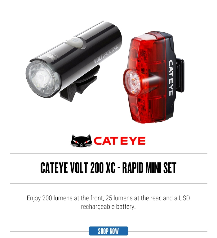 Cateye Volt 500 XC - Rapid X2 Set