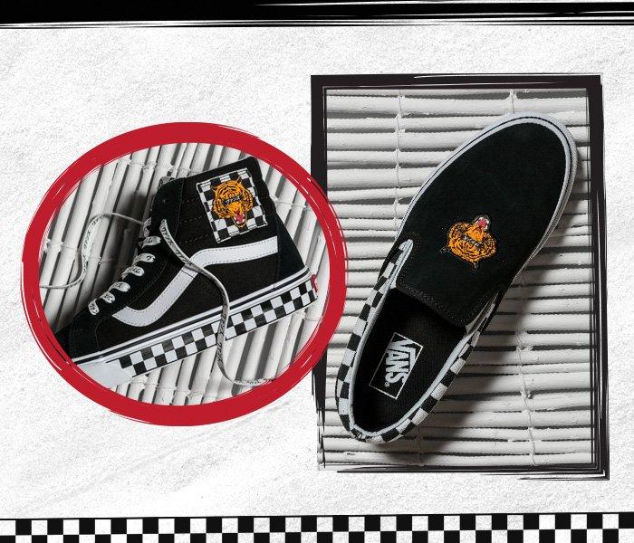 Vans UK: 🐯 Tiger Checkerboard…Grrrr