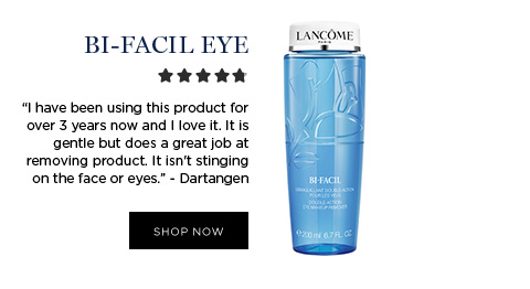 BI-FACIL EYE - I have been using this product for over 3 years now and I love it. It is gentle but does a great job at removing product. It isn't stinging on the face or eyes. - Dartangen - SHOP NOW