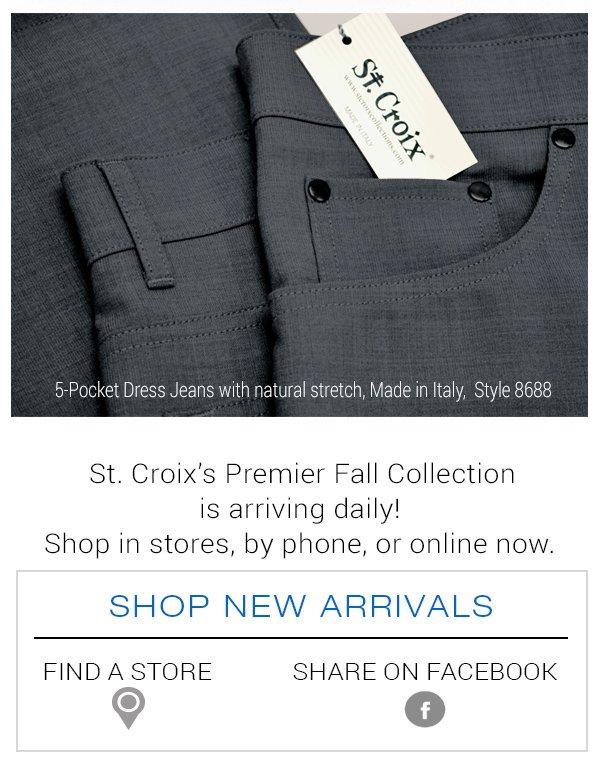 Shop New Arrivals at St. Croix Shop