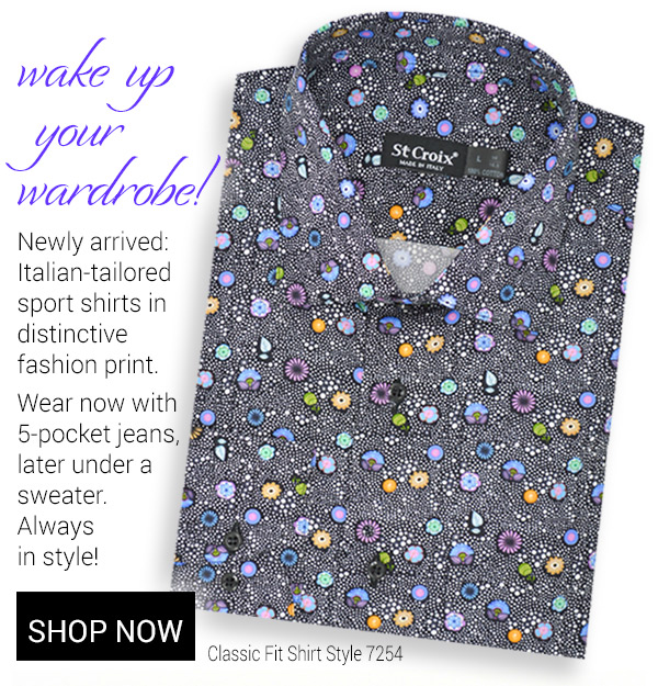 Psychedelic Print Shirt - Style 7254