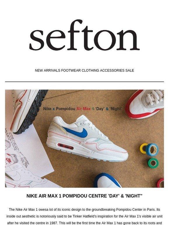 Sefton Fashion: NIKE AIR MAX 1 POMPIDOU | RAF OZWEEGO & STAN