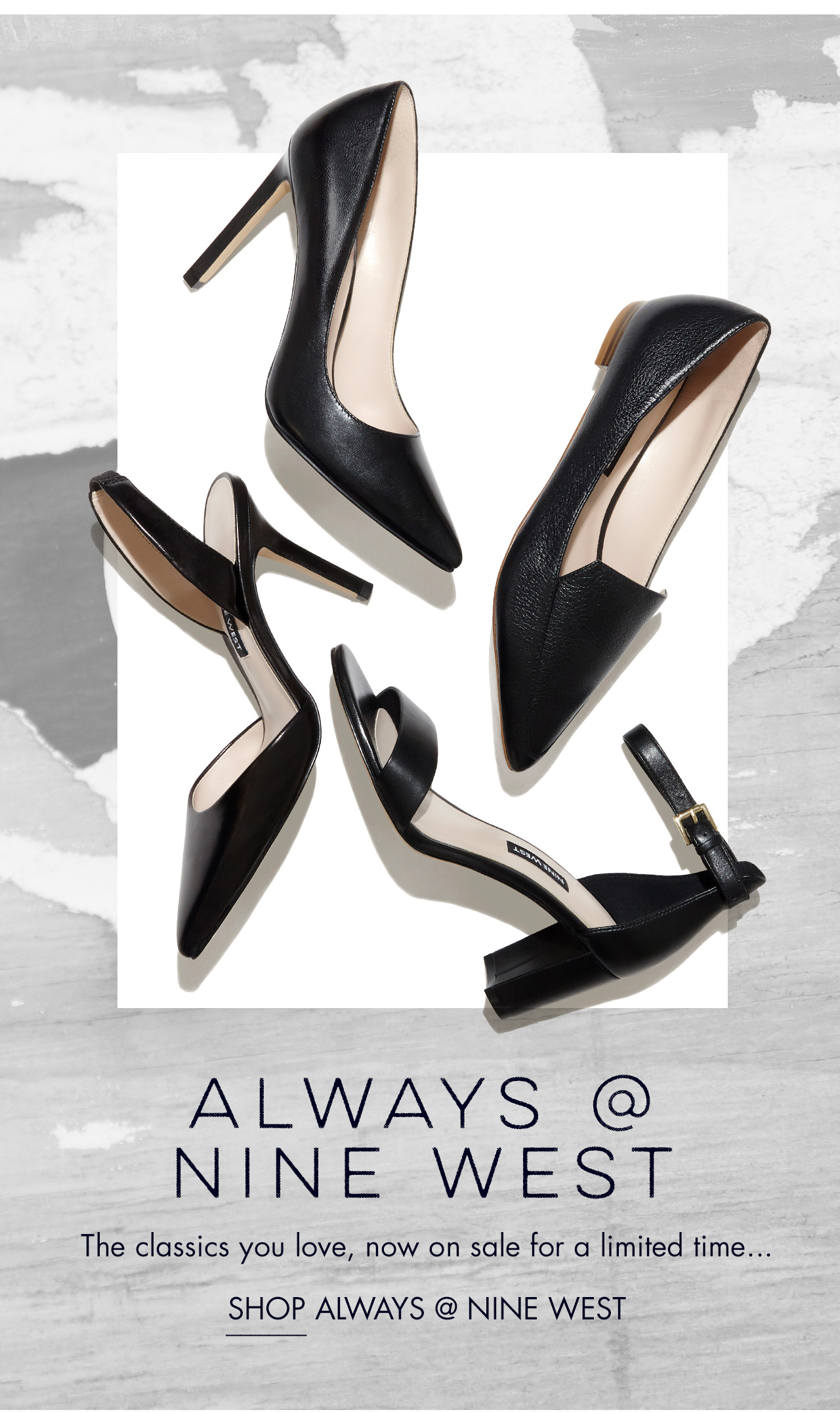 Always At Nine West - Shop Now