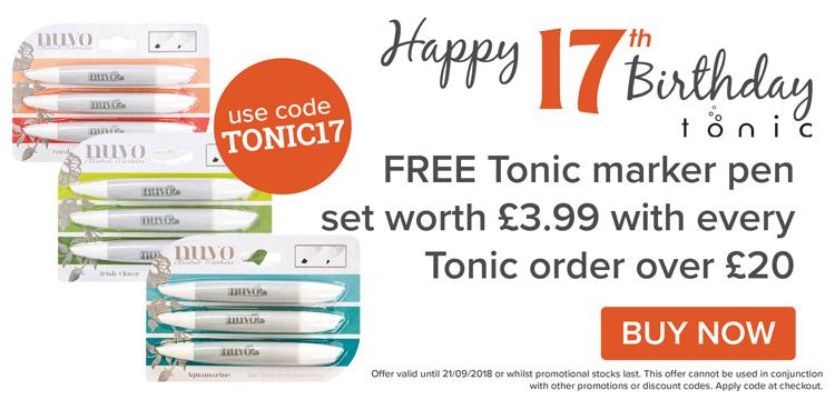 Free Tonic Marker Pens
