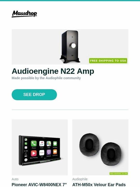 Massdrop: Audioengine N22 Amp, Pioneer AVIC-W8400NEX 7