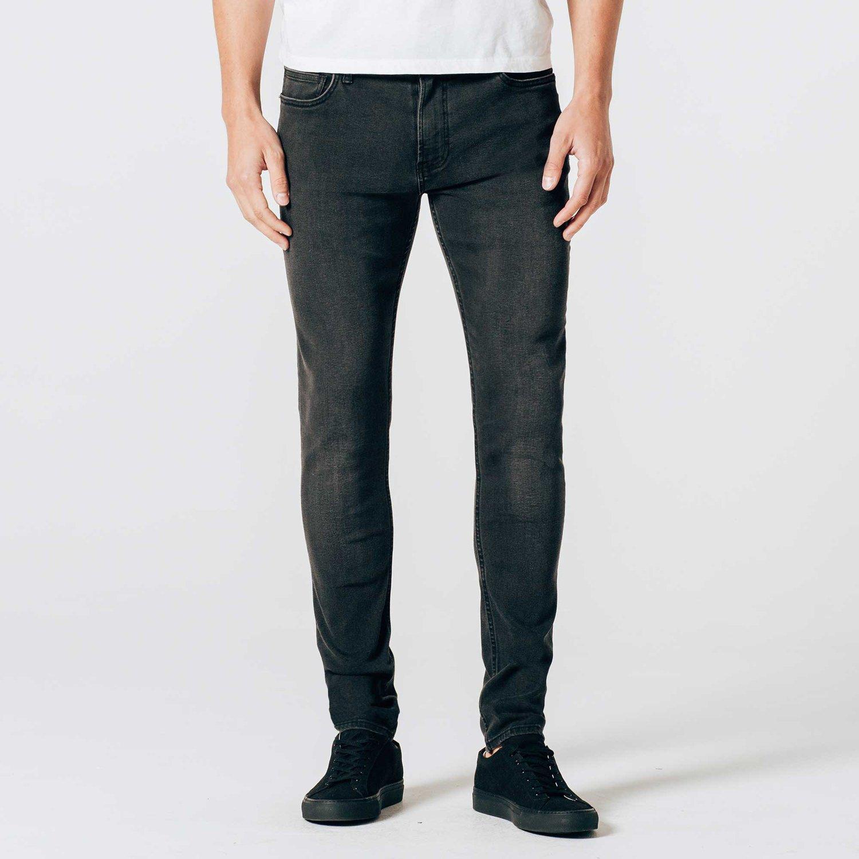 Skinny Jeans in Faded Black
