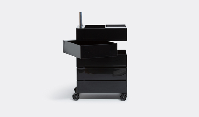 '360' container, black by Konstantin Grcic for Magis