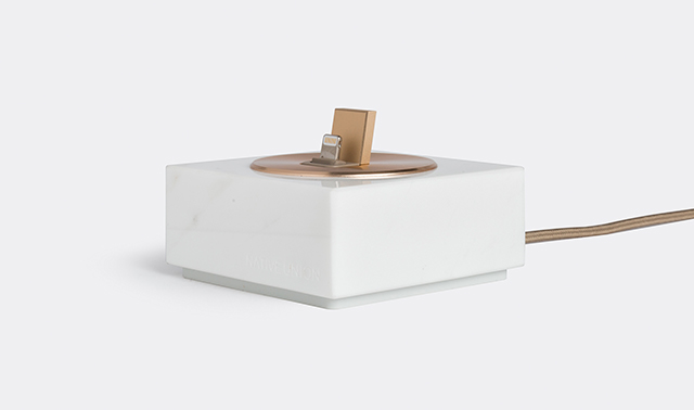 Marble charging dock by Native Union
