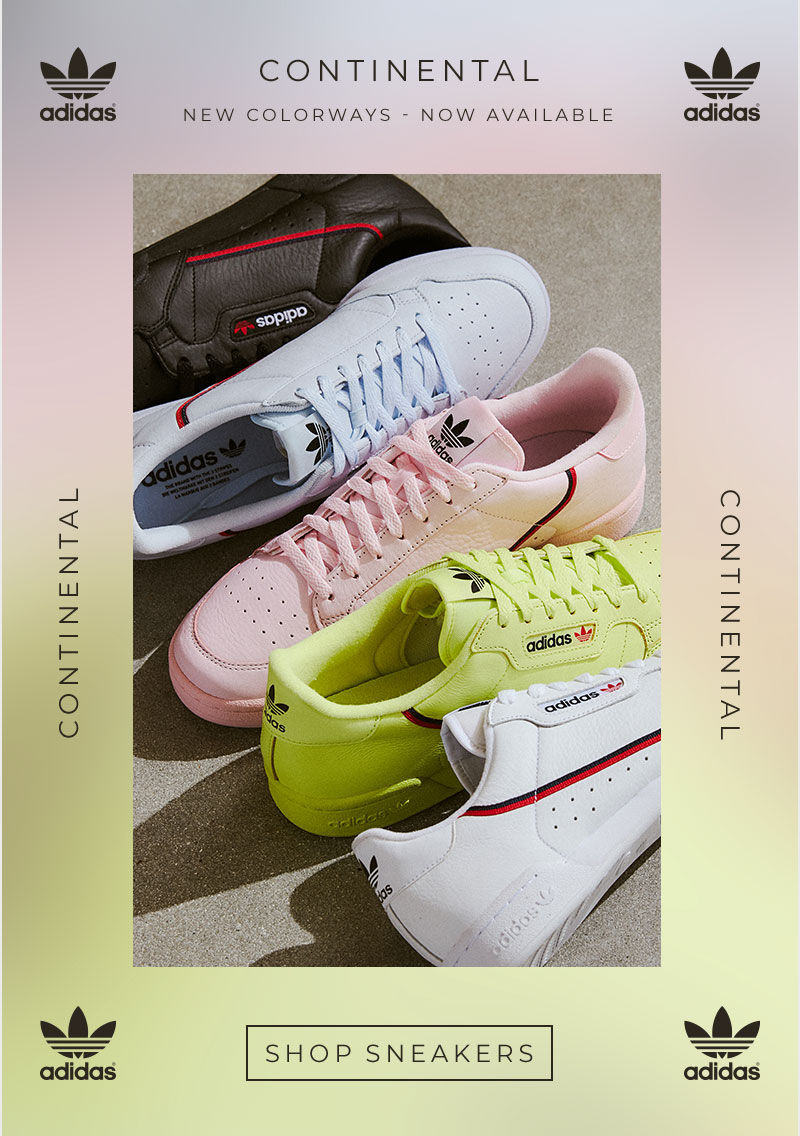 64fdd50b292 PacSun  adidas Continental 80 Shoes in fresh colorways