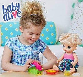 Baby Alive Super Snacks Snackin' Noodles Baby Blonde