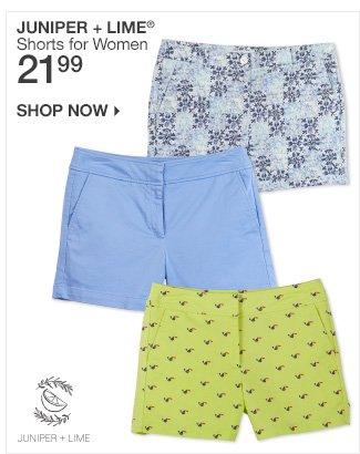 Shop 21.99 Juniper + Lime Shorts for Women