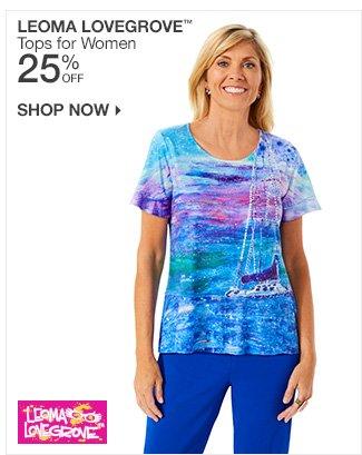 Shop 25% Off Leoma Lovegrove Tops