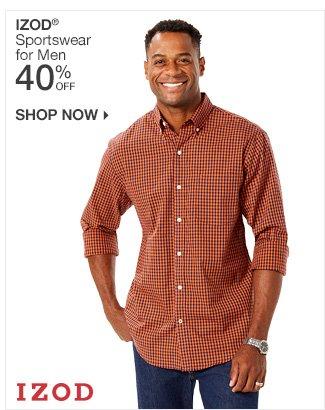 Shop 40% Off IZOD for Men