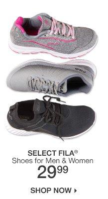 29.99 Select Fila Shoes