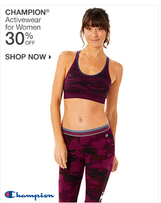 Shop 30% Off Champion Activewear for Women