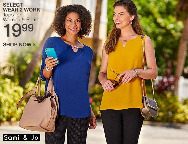 Shop 19.99 Select Wear 2 Work Tops
