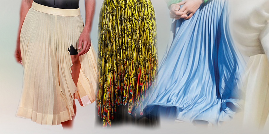 In The Fold: Smashing Car Windows In Long Pleated Skirts