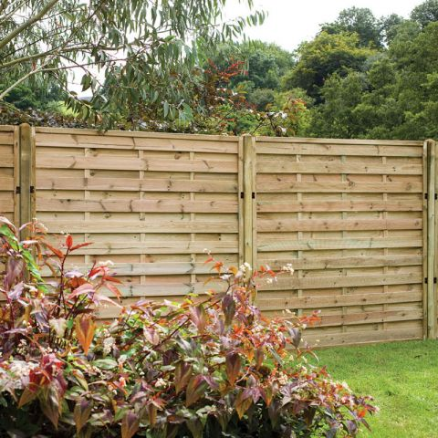 Delicieux Forest 6u0027 X 5u0027 (1.8m X 1.5m) Exeter Pressure Treated Decorative Fence Panel  (Europa)