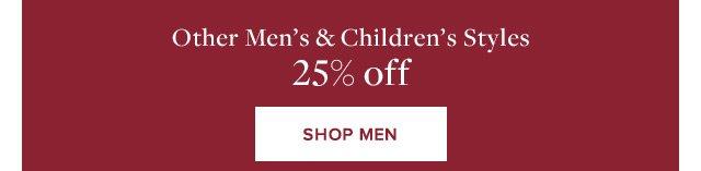 OTHER MEN'S & CHILDREN'S STYLES | SHOP MEN