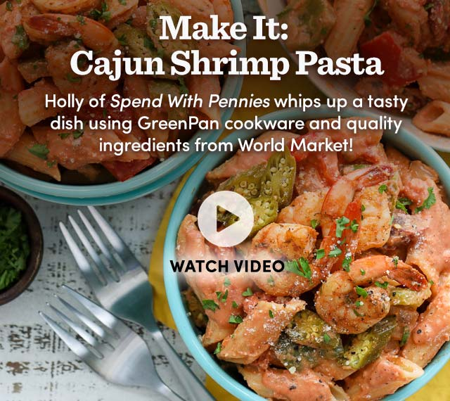 Make It: Cajun Shrimp Pasta