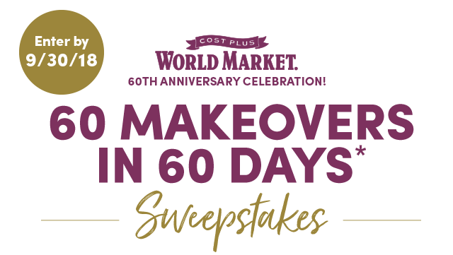 60 Makeovers In 60 Days* Sweepstakes