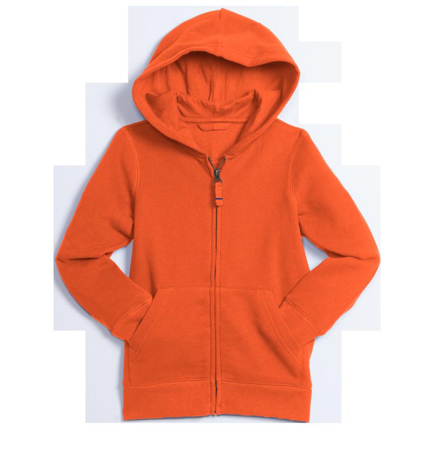 the cozy zip hoodie