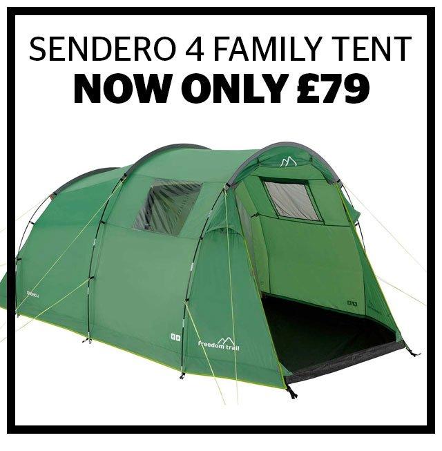 Sendero 4 Family Tent