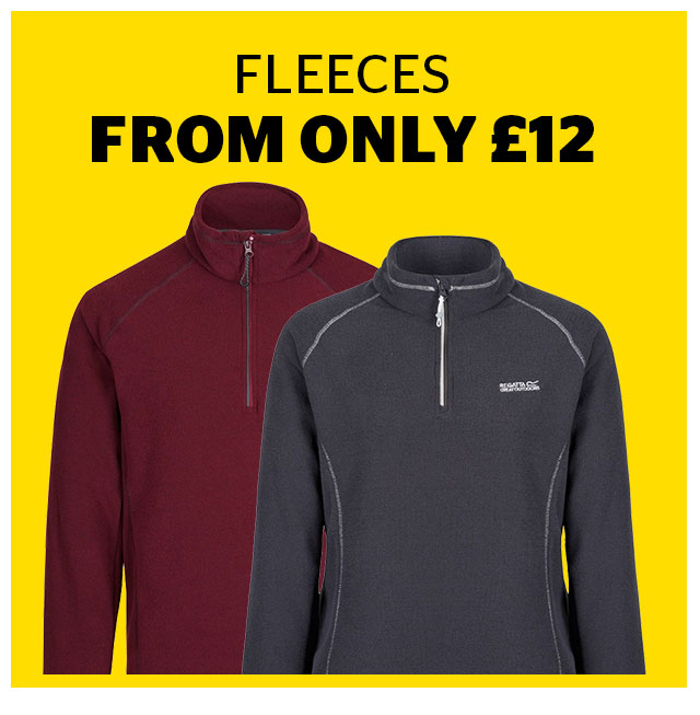 Fleeces From Only 12