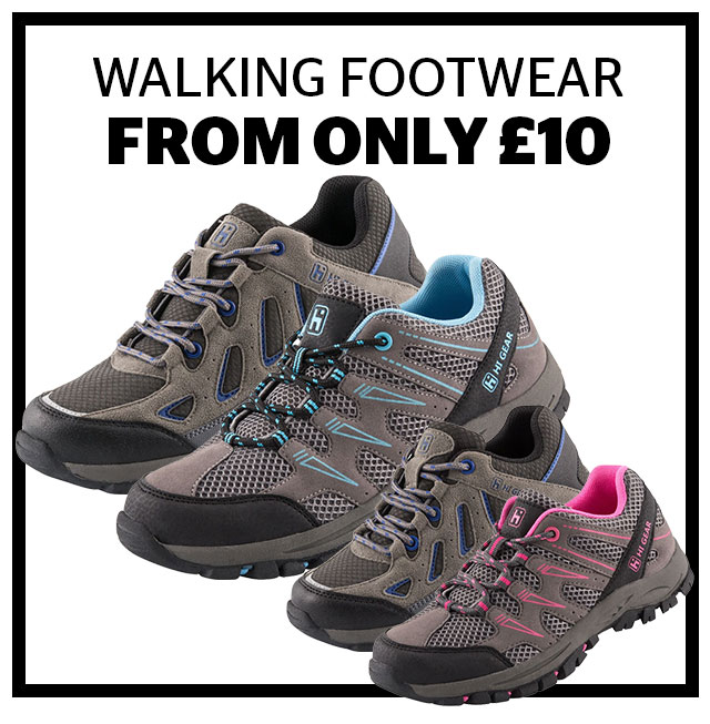 Walking Footwear From Only 10