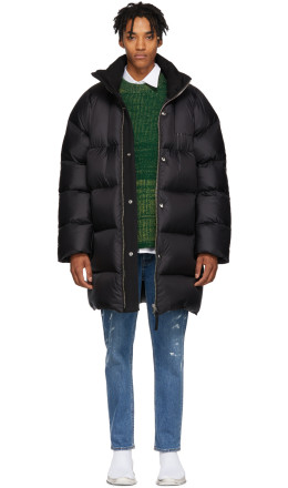 Acne Studios - Black Down Coat