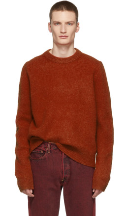 Acne Studios - Red Kai Crewneck Sweater