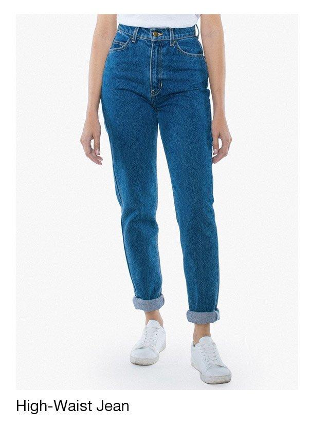 The High-Waist Jean