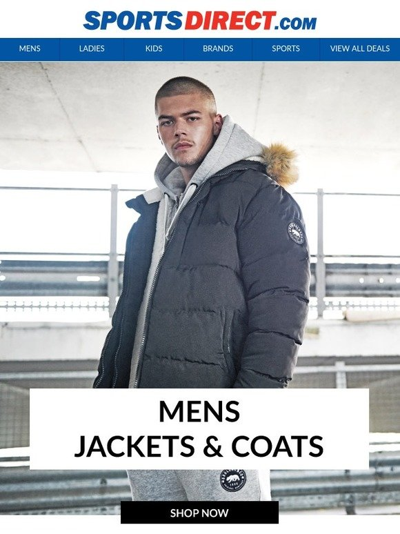 SportsDirect.com  Jackets   Coats to Wrap Up in This Autumn  b8657b3be2e0