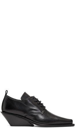 Ann Demeulemeester - Black Heeled Derbys