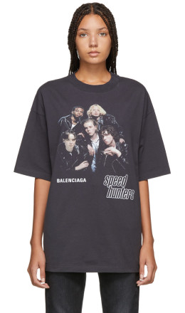 Balenciaga - Black 'Speedhunters' T-Shirt