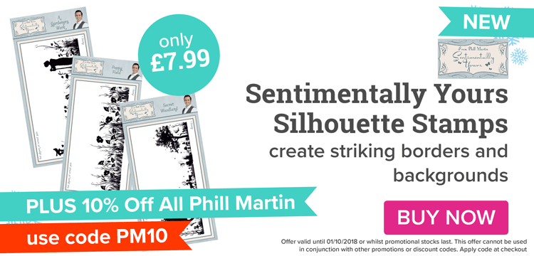 Phill Martin Silhouette Stamps