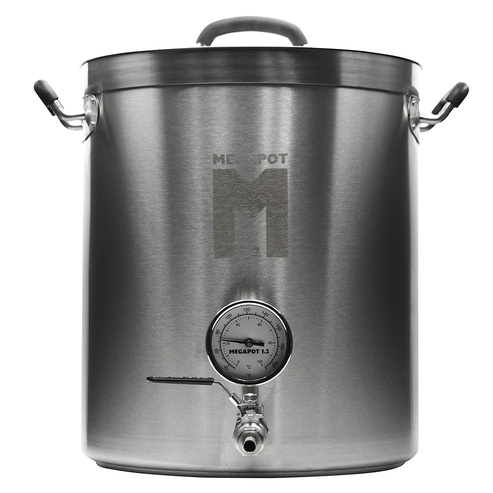 10 Gal Megapot 1.2 Stainless Brew Kettle