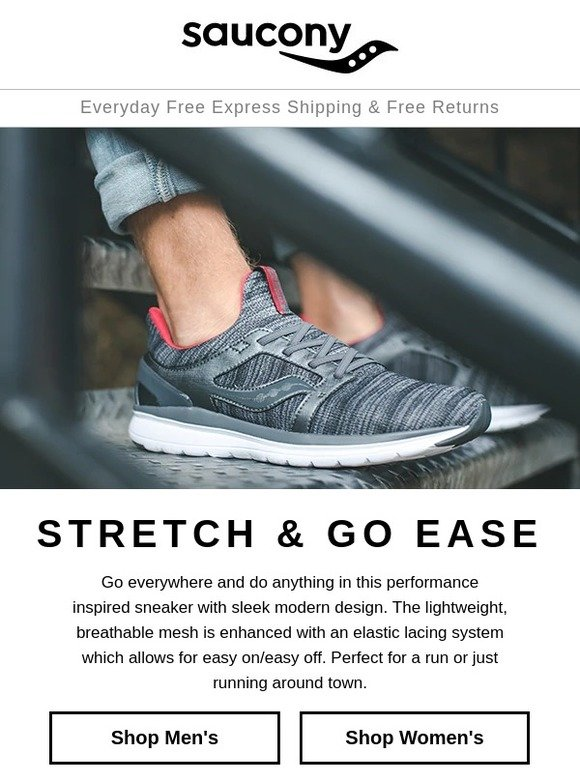 saucony stretch and go ease