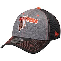 db07bbe4dac Men s Chase Elliott New Era Graphite Black Hooters Black Neo Sponsor  39THIRTY Flex Hat