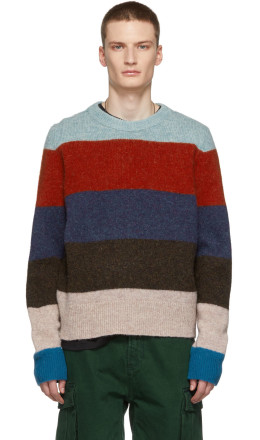 Acne Studios - Multicolor Striped Kai Sweater