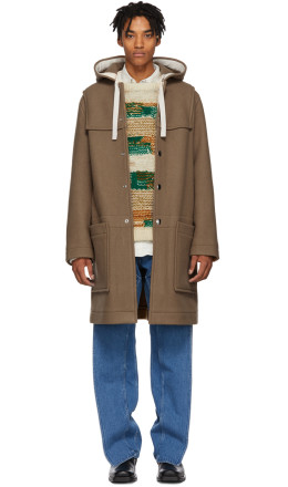 Acne Studios - Brown Wool Duffle Coat