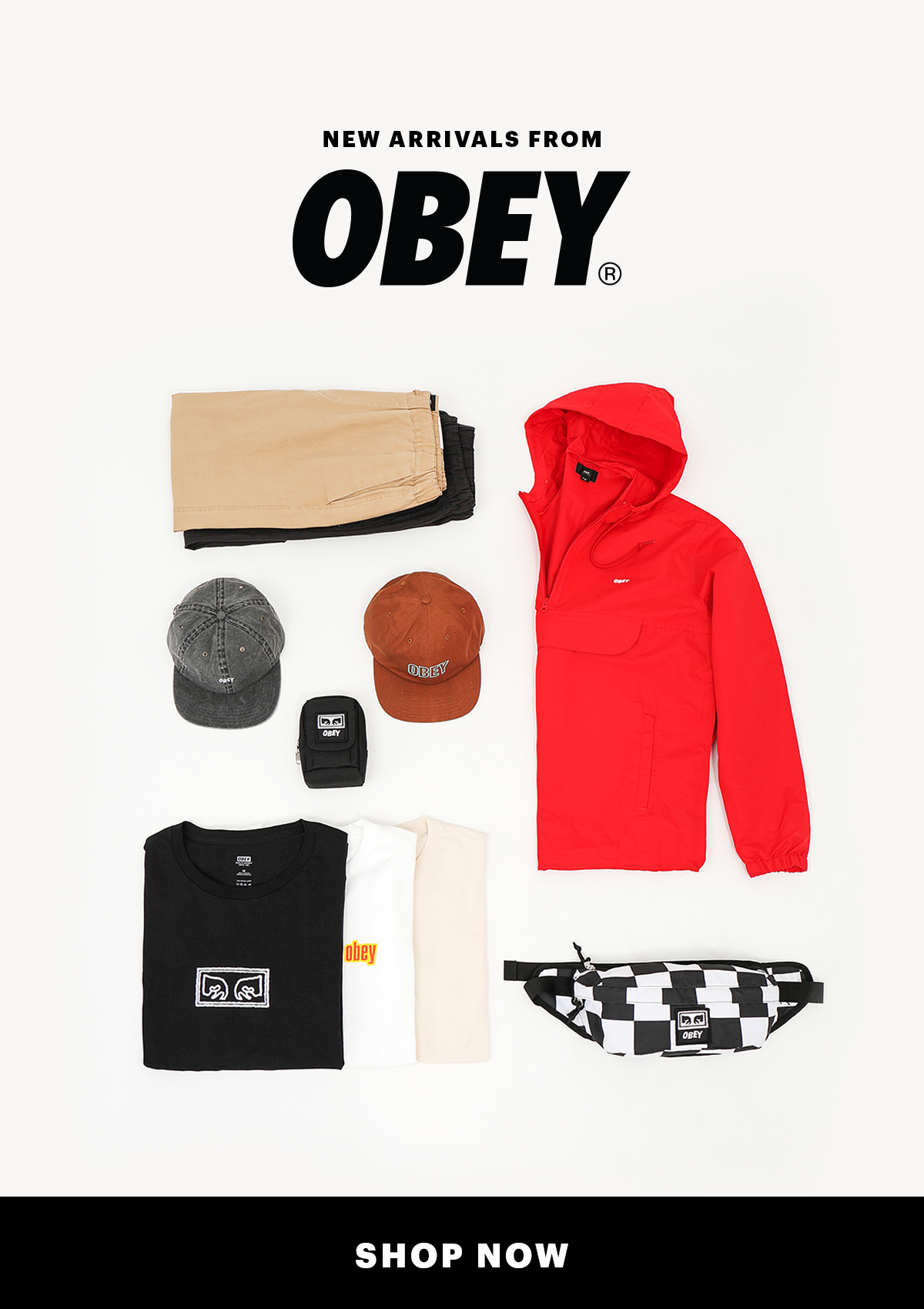 New Arrivals From Obey | Shop Now
