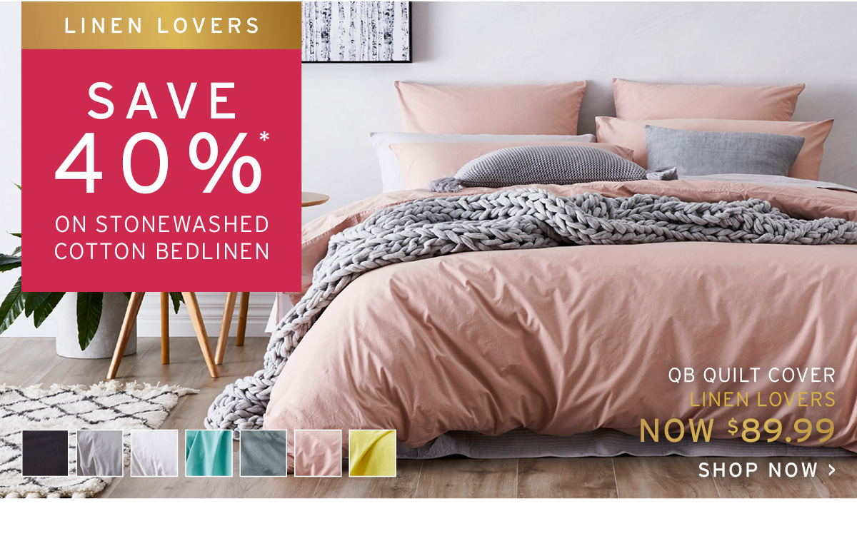Adairs Long Weekend Short Event Linen Lovers Save Up To 50 On