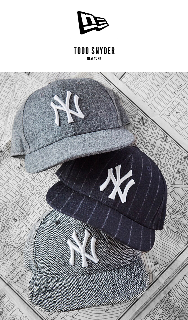 Todd Snyder  Exclusive Limited Edition  Todd Snyder X New Era Wool ... de4bfb5f726