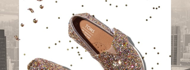 TOMS: Almost sold out: GLITTER CLASSICS