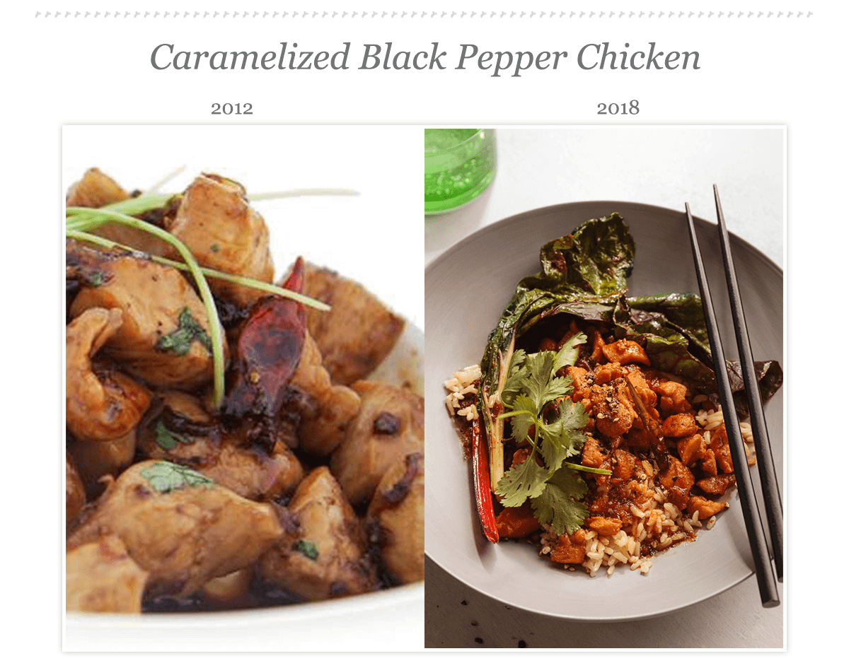 Caramelized Black Pepper Chicken