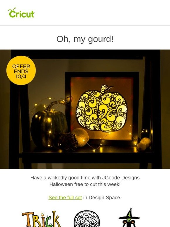 Cricut: 🎃Free 👻Halloween Images This Week Only! | Milled