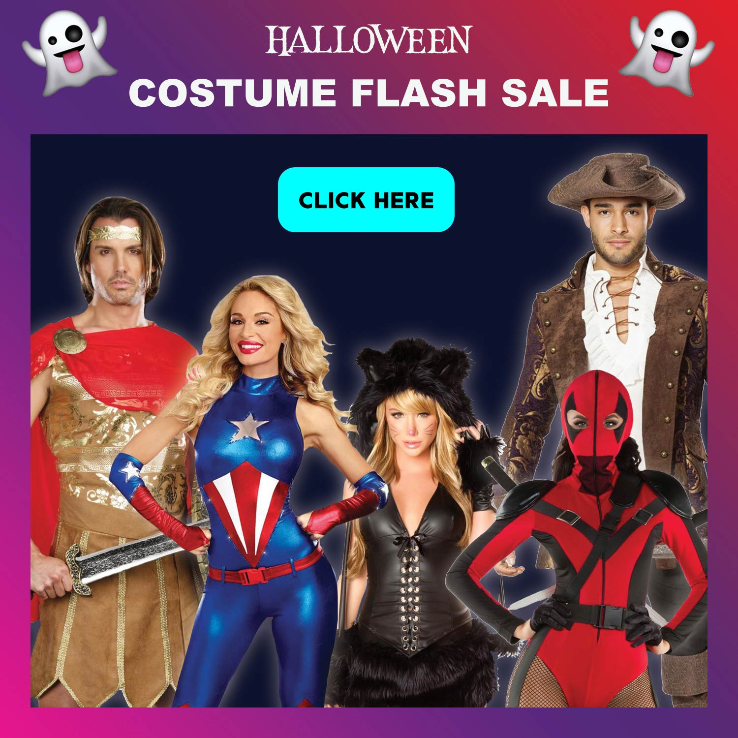 0b61595ee5c 3Wishes.com: 🎃Save BIG on your costume this weekend! 🎃 | Milled